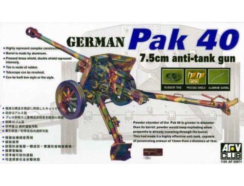 AFV-Club PAK40 76 mm GUN 1:35 (35071)