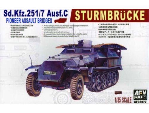 AFV-Club SDKFZ 251/7 AUSF C PIONNIER 1:35 (35077)