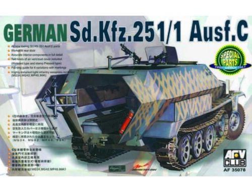 AFV-Club SDKFZ 251/1 Ausf.C 1:35 (AF35078)