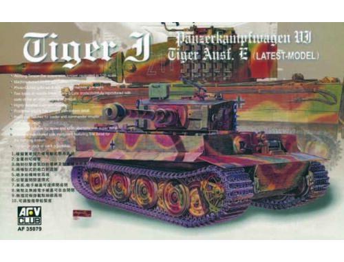 AFV-Club TIGER I AUSF E 1:35 (35079)