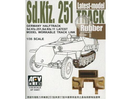 AFV-Club SdKfz 251latest type rubber 1:35 (35081)