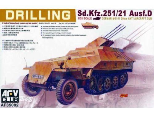 AFV-Club SDKFZ 251/21 DRILLING 1:35 (35082)