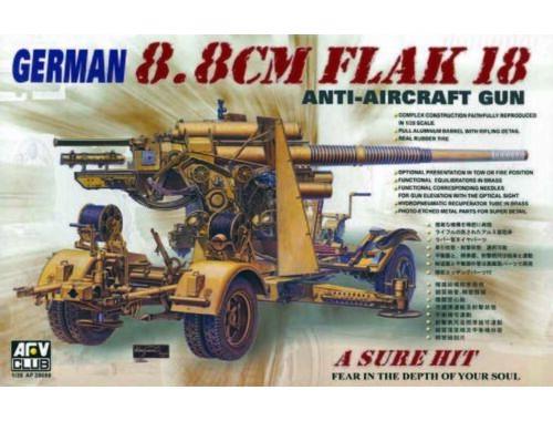 AFV-Club 8,8 cm FLAK 18 1:35 (35088)
