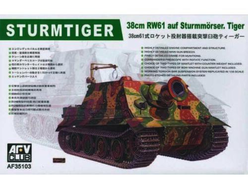 AFV-Club Sturmtiger 38cm RW61 1:35 (35103)