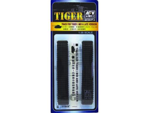 AFV-Club TIGER I TRACKS (SOFT RUBBER) 1:35 (35114)