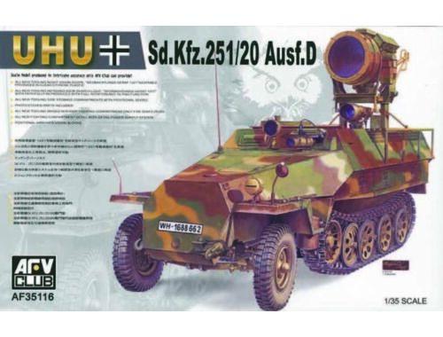 AFV-Club SDKFZ 251/20 AUSF D ''UHU'' 1:35 (35116)