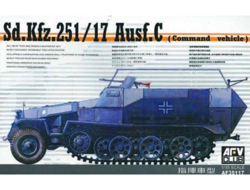 AFV-Club SDKFZ 251/17 COMMAND 1:35 (35117)