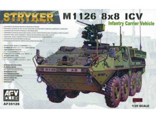 AFV-Club M1126 8x8 ICV Stryker 1:35 (35126)