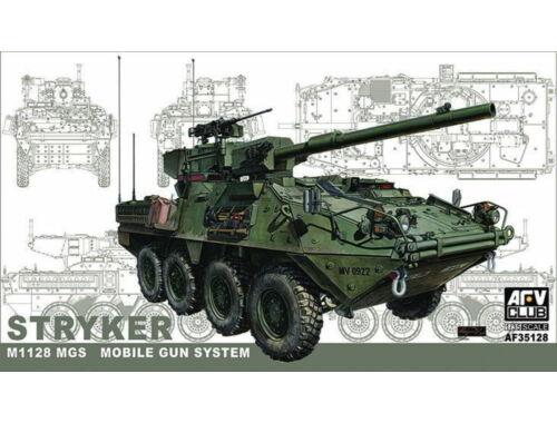 AFV-Club STRYKER w/105mm gun MGS 1:35 (35128)