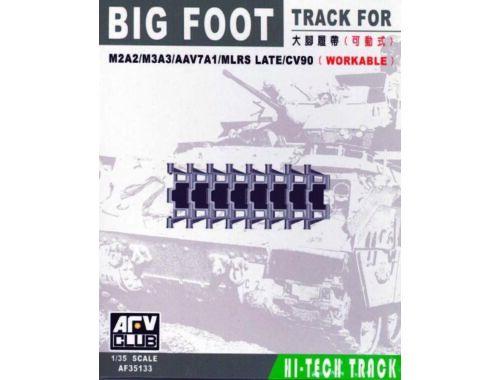AFV-Club BIG FOOT TRACKS (BRADLEY/AAV7/MLRS) 1:35 (35133)