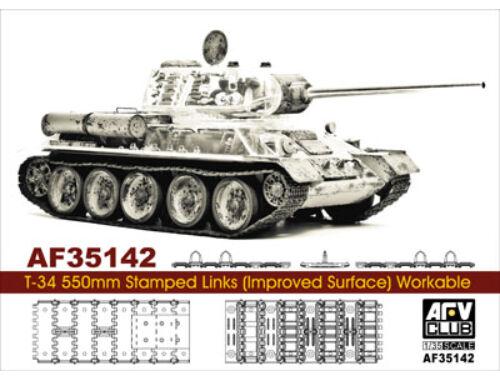 AFV-Club T-34 55cm stamped track (workable) 1:35 (35142)