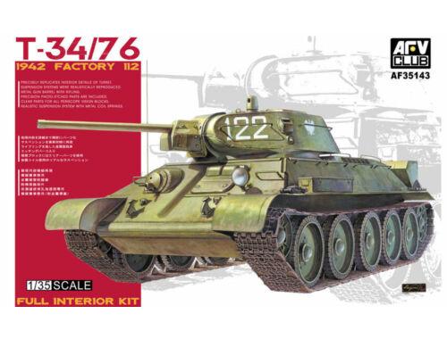 AFV-Club T34/76 1942, Factory 112 1:35 (35143)