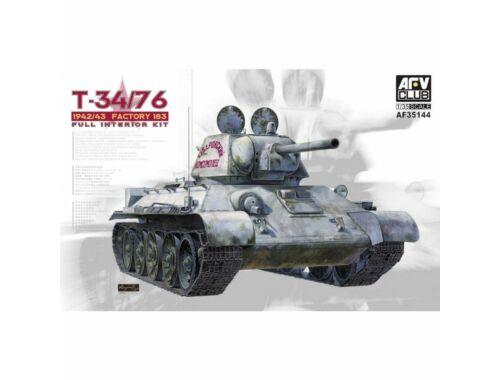 AFV-Club T34/76 Mod. 1942/43 No.183 (Full Int.) 1:35 (AF35144)