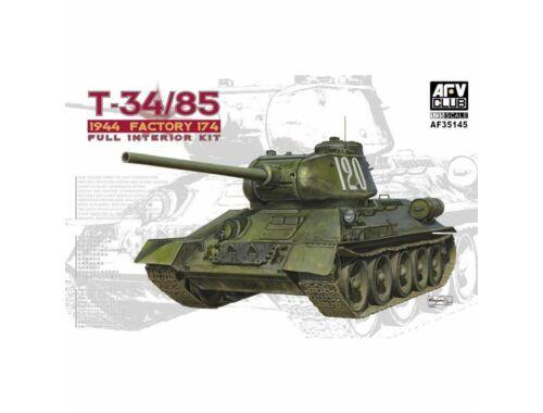 AFV-Club T34/85 Model 174 Factory(Full interiorKi 1:35 (AF35145)