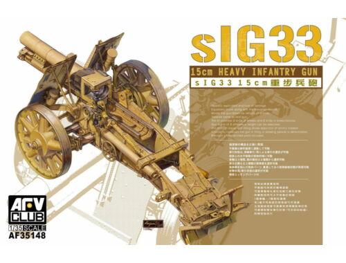 AFV-Club SiG33 15cm Heavy Infantry gun 1:35 (35148)