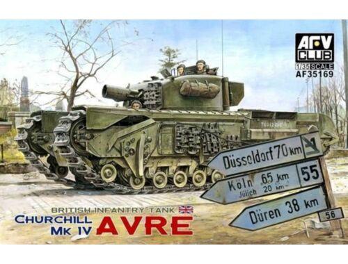 AFV-Club Churchill MK IV AVRE (w/vinyl & work.tr. 1:35 (35169)