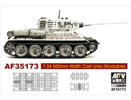 AFV-Club T-34 50cm cast track (workable) 1:35 (35173)