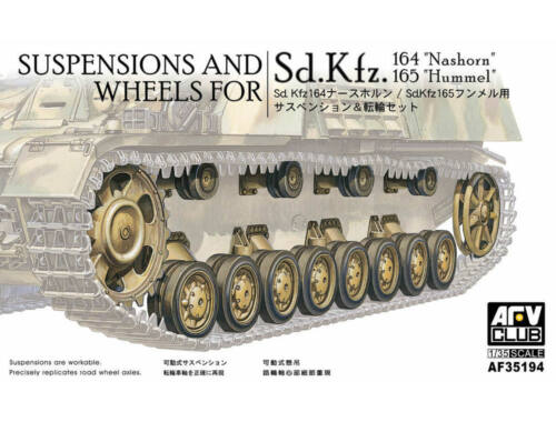 AFV-Club Wheels & suspensions for Panzer IV 1:35 (35194)