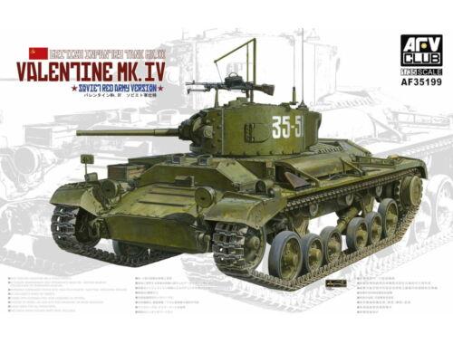 AFV-Club Valentine Mk. IV 1:35 (AF35199)
