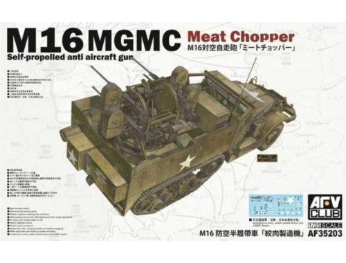 AFV-Club M16 Multiple Gun Motor Carriage 1:35 (AF35203)