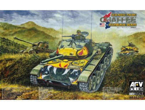 AFV-Club M24 Chafee tank Korea war vision 1:35 (AF35209)