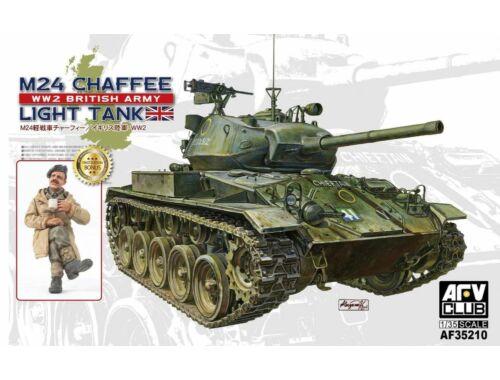 AFV-Club M24 Chaffee tank WW 2 British Army versi 1:35 (AF35210)