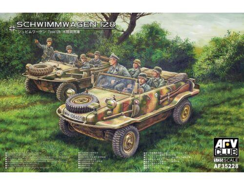 AFV-Club VW 128 Schwimmwagen 1:35 (AF35228)