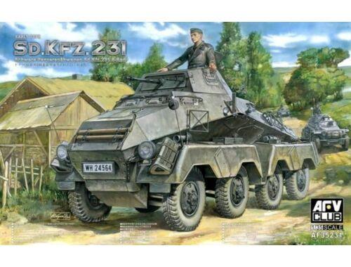 AFV-Club Sd. Kfz. 231 early type 1:35 (35231)