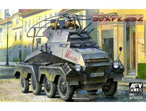 AFV-Club SD.KFZ.232 Schwere Panzerspähwagen 8 Rad 1:35 (AF35232)