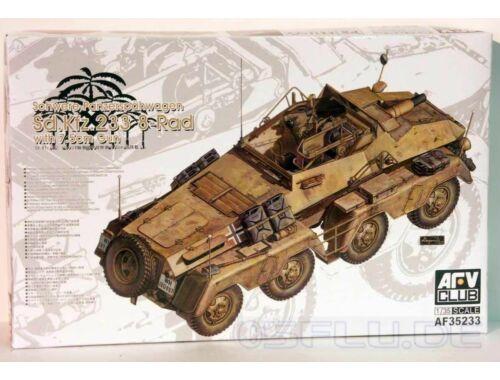 AFV-Club Sd.Kfz.233 8-Rad with 7,5 cm Gun Schwere Panzerspähwagen 1:35 (AF35233)