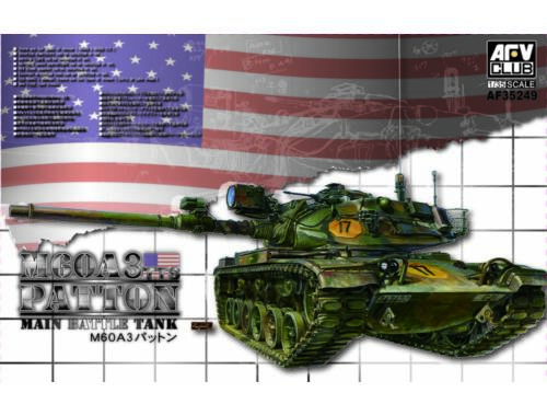 AFV-Club M60A3 TTS Patton Main Battle Tank 1:35 (AF35249)
