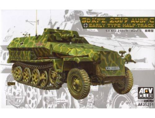 AFV-Club Sd.Kfz.251/9/Ausf,C Early Type Half-Trac 1:35 (AF35251)