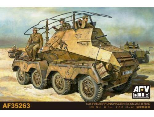 AFV-Club Panzerfunkwagen Sd.Kfz. 263 8-Rad 1:35 (AFV35263)