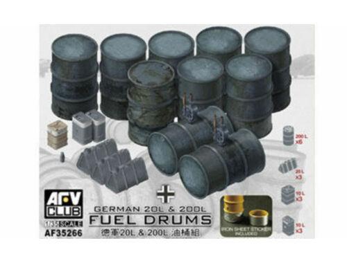 AFV-Club German 20L & 200L Fuel Drums 1:35 (AF35266)