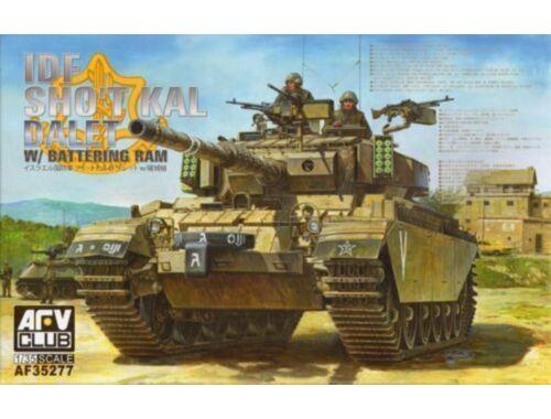 AFV-Club IDF Sho't Kal Dalet w/Battery Ram 1:35 (AF35277)