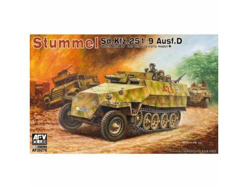 AFV-Club Stummel Sd.Kfz.251/9 Ausf.D 7,5cm KwK37 1:35 (AF35278)