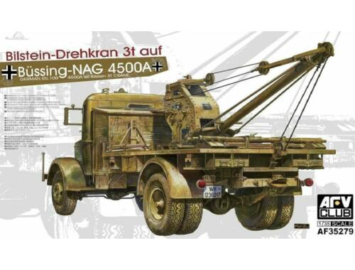 AFV-Club Büssing-NAG 4500A Bilstein-Drehkran 3t a 1:35 (AF35279)