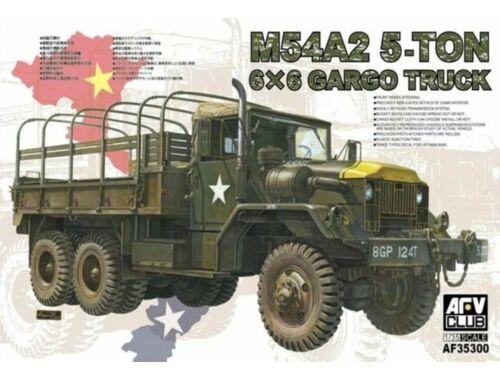 AFV-Club M54A2 5-Ton 6x6 Cargo Truck 1:35 (AF35300)