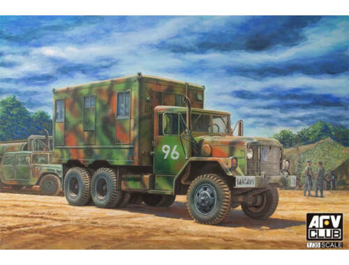 AFV-Club M109A3 VAN SHOP(Van body with internal structure) 1:35 (AF35304)