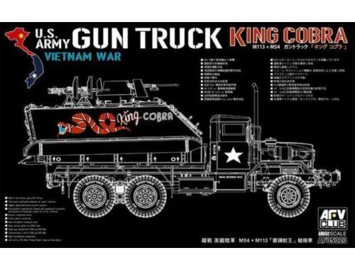 AFV-Club M113+M54A2 GUN TRUCK 1:35 (AF35323)