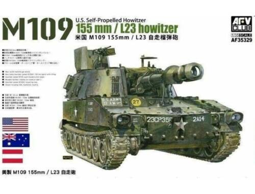 AFV-Club M109 155mm/L23 Howitzer 1:35 (AF35329)