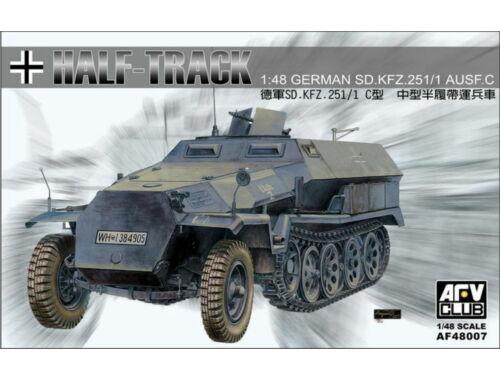 AFV-Club SDKFZ 251 Ausführung C 1:48 (48007)