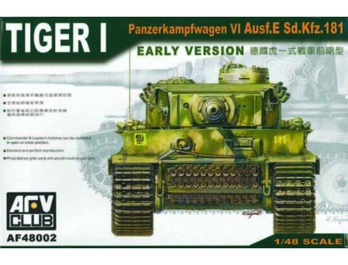 AFV-Club Tiger I Early Version 1:48 (48002)