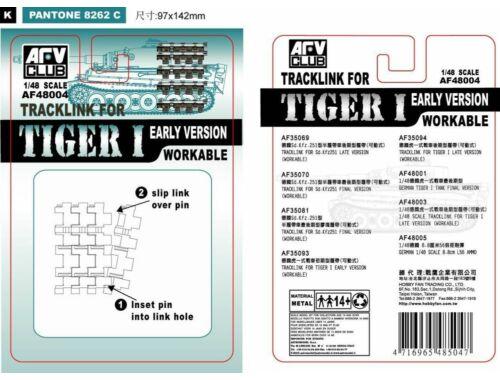 AFV-Club TRACK LINK TIGER I EARLY 1:48 (48004)