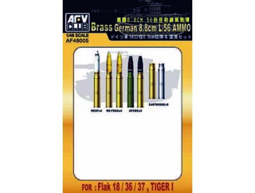 AFV-Club 8,8 cm L/56 AMMUNITION 1:48 (48005)