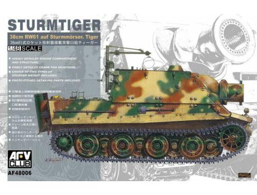 AFV-Club Sturmtiger 38cm RW61 auf Sturmmörser 1:48 (48006)