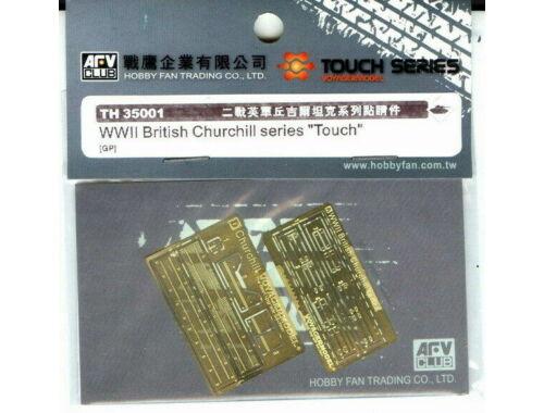AFV-Club Super-details set for British Churchill 1:35 (TH35001)