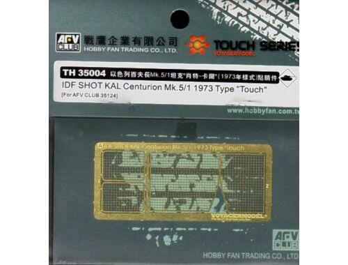 AFV-Club Super-details set f. IDF SHOT KAL Centu. 1:35 (TH35004)