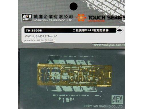 AFV-Club Super-details set for M5A1 1:35 (TH35008)