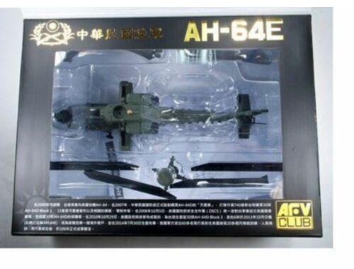 AFV-Club ROC Army AH-64E(Die Cast Model)-AFI 1:72 (BL72S01)
